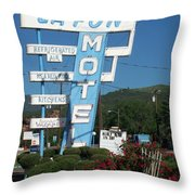 Lafon Motel Throw Pillow