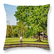 Lafreniere Park 2 Throw Pillow