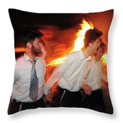 Lag B'omer Throw Pillow