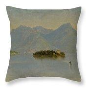Lago Maggiore. Italy Throw Pillow