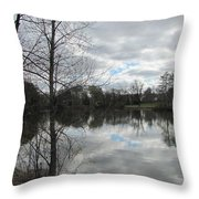 Lagoon Reflections 2 Throw Pillow