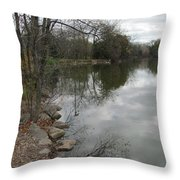 Lagoon Reflections 3 Throw Pillow