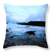 Lagoon Waters Throw Pillow