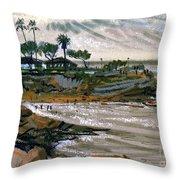 Laguna Beach 91 Throw Pillow