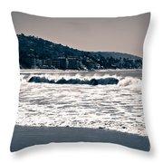 Laguna Beach California Photo Throw Pillow
