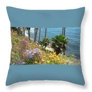 Laguna Beach, Southern California 12 Throw Pillow