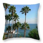 Laguna Beach, Southern California 2 Throw Pillow