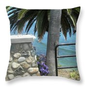 Laguna Beach, Southern California 9 Throw Pillow