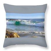 Laguna Serenity Throw Pillow