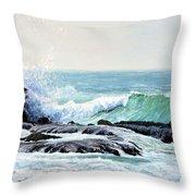 Laguna Splash Throw Pillow