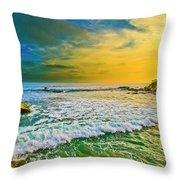Laguna Tides Throw Pillow