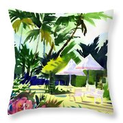 Lahaina Afternoon Throw Pillow