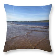 Lahinch Beach, West Of Ireland Throw Pillow