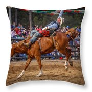 Laid Back Cowboy Throw Pillow