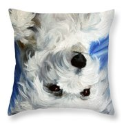 Laid Back II Throw Pillow