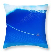 Jaws Cliff Angle 1-10-2004 Throw Pillow