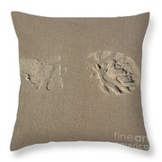 Laisser Sa Trace / Leave A Trace Throw Pillow
