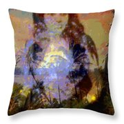 Laka Hula Akua Throw Pillow