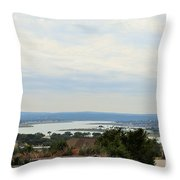 Lake 006 Throw Pillow