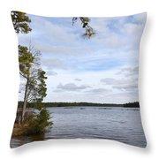 Lake 395 Throw Pillow