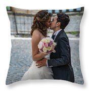 Lake Albano Throw Pillow