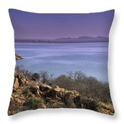 Lake Altus Lugert Throw Pillow