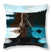 Lake And Beauty Ftg0002 Throw Pillow