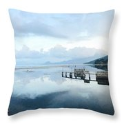 Lake Atitlan, Guatemala Throw Pillow