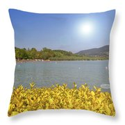 Lake Balaton, Hungary Throw Pillow