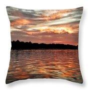Lake Beulah Throw Pillow