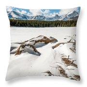 Lake Bierstadt Ver.2 Throw Pillow