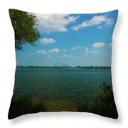Lake Calhoun 3796 Throw Pillow