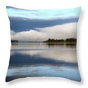 Lake Cobb'see Throw Pillow by Dana Patterson