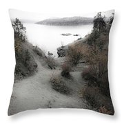 Lake Coeur D'alene 2 Throw Pillow