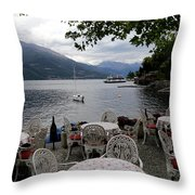 Lake Como 14 Throw Pillow