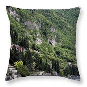 Lake Como 15 Throw Pillow