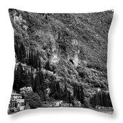 Lake Como 15b Throw Pillow