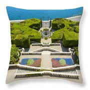 Lake Como,villa Carlotta, Italy Throw Pillow