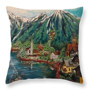 Lake Constance Throw Pillow