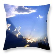 Lake Country Sunburst Throw Pillow