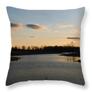 Lake Cumberland County Tennessee Throw Pillow