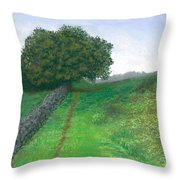 Lake District Trail Throw Pillow