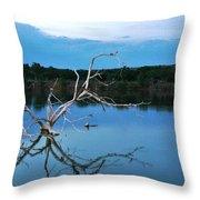 Lake Fryer Tree Throw Pillow