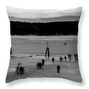 Lake Fun 6 Throw Pillow