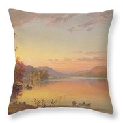 Lake George  Ny Throw Pillow
