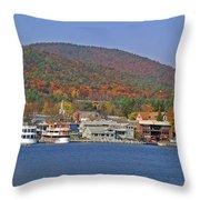 Lake George  13  Throw Pillow