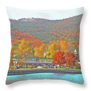 Lake George  14  Throw Pillow