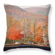 Lake George 15 Throw Pillow