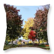 Lake George  3 Throw Pillow