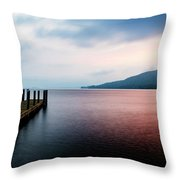 Lake George Sunrise 3 Throw Pillow